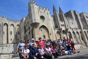 Spotkanie pielgrzymów, którzy byli we Francji