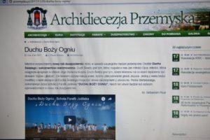 Prezentacja naszej scholi na stronie Archidiecezji